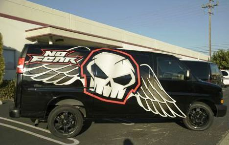 111 Ink vehicle wrap
