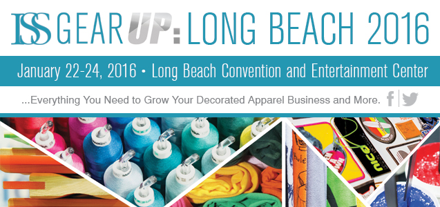 McLogan will be at the Imprinted Sportswear Show 2016 in Long Beach, CA